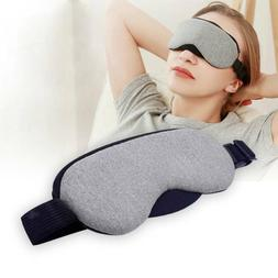 USB Heat Steam Cotton Eye Mask Dry Tired Hot Cold Ice Compre