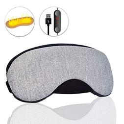 Dr. Prepare USB Heated Cotton Surface Eye Mask with Time and