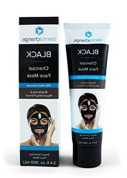 Natural Charcoal Peel Off Face Mask - Activated Charcoal - B