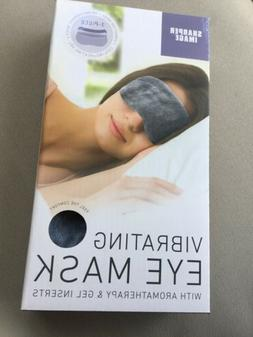 Sharper Image Vibrating Eye Mask With Aromatherapy & Gel Ins