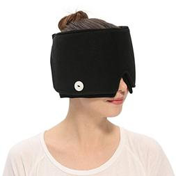 Aroma Season Wearable Ice Pack Migraine Hat Cold Therapy, He