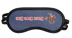 RNK Shops Western Ranch Sleeping Eye Mask