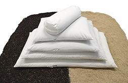 """Bean Products WheatDreamz Neck Roll Pillow - 6"""" x 16"""" - Cott"""