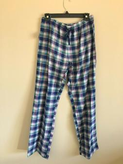 Women's Tommy Hilfiger Flannel Plaid Pajama pant with eye ma