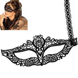 Toogoo xy Lady Girl Lace Eye Mask Halloween Party Fancy Dres